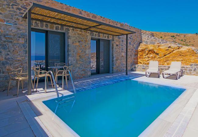 Varkotopi 4, Sea view villa, Agios Pavlos, Rethymno
